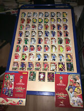 67 cartes (dont 2 limitées) Fifa World Cup: Russia 2018 (Adrenalyn XL)