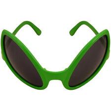 1-12 packs Adult Alien Dark Lens Glasses Unisex Halloween Fancy Dress Party New