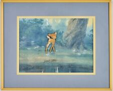 Original 1942 Walt Disney Bambi Production Cel Signed Marc Davis