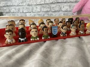 Complete Set Of England 2010 Gogo's with Dugout. 27 Figures Inc 5 Lasers.