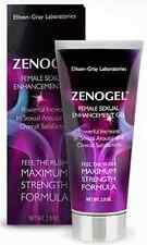 Zenogel Female Sexual Enhancement Gel Intensify Arousal Boost Satisfaction