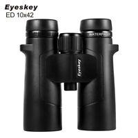 Eyeskey ED 10x42 Waterproof Super-Multi Coating Binoculars High Power Telescope