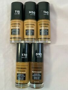 COVERGIRL TRUE BLEND MATTE MADE LIQUID FOUNDATION**YOU CHOOSE**COMBINED SHIPPING