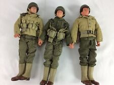 Lot Of 3 Dragon 1/6 WWII American GI Collectible Action Figures 1st ID USMC