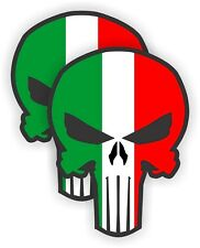 Hard Hat Stickers   Mexican Flag Skulls   Safety Helmet Decals Punisher Mexico