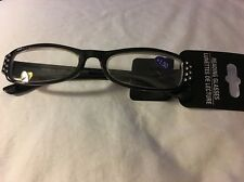 Fashion Reading Glasses +150 Black