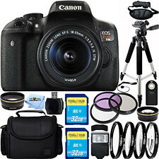 Canon EOS Rebel T6i DSLR Camera with 18-55mm Lens!! EVERYTHING YOU NEED BUNDLE!!