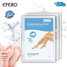 Efero New Exfoliating Foot Mask Dead Skin Remover Moisturizing Socks Feet