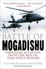 The Battle of Mogadishu First-Hand Accounts - the Men of Task Force Ranger New