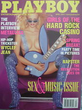 PLAYBOY MAGAZINE - Girls Of The Hard Rock Casino - April 2001