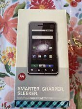 Motorola Milestone XT720 phone silver blue brand new