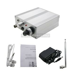 118-136MHz AM Air Band Radio Receiver with Antenna + Headphone + Charger