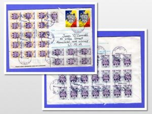 Moldova cover, lots & lots of stamps 2018  (326