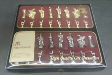"""Manopoulos Chess Set Figures Only NO BOARD Made in Greece Greek Mythology 1 5/8"""""""