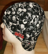 Walking Dead Sc Handmade 100% cotton, Welding Biker, pipefitter,4 panel hat
