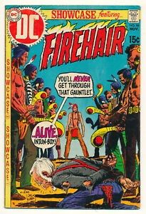 DC Showcase Firehair Issue #86 Comic Book River of Gold! 4.0 VG 1969