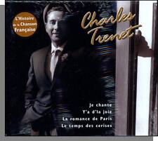 Charles Trenet - L'Histoire de la Chanson Francaise - New 2000, French Songs CD!