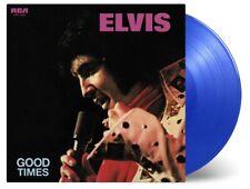 Elvis Presley: Good Times (45th Anniversary) 180g Blue Coloured Vinyl LP Record