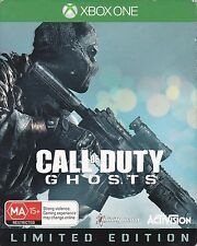 Call Of Duty Ghosts  -  Limited Metal Case Edition