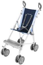 Maclaren Major Elite Special Needs Transport Push Chair Stroller Soft Blue/Navy