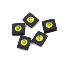5pcs Flash Hot Shoe Cover Cap Bubble Spirit Level For Nikon Canon Camera Parts