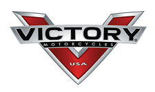 "Victory Motorcycles Usa ""V"" Decal - 3"" X 1.5""- Set Of 2"
