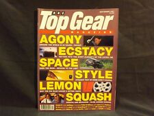 TOP GEAR MAGAZINE ISSUE 48 SEPTEMBER 1997. PEUGEOT 406 COUPE. JAY LENO. GOLF VR6