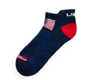 Rare 2020 Ryder Cup Ralph Lauren Polo Camo Flag Sock Team USA Golf Official Blue