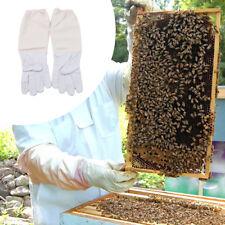 Beekeeper Beekeeping Bee Keeping Gloves Goatskin With Vented Long Sleeves Sh