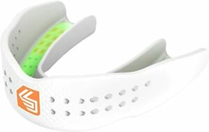 Shock Doctor Mouthguard SuperFit – Easy-Fit Strap/Strapless White Youth