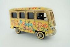 🔥VW Vanagon Bus Wood Decor Art Peace Love Inner Storage Box 11in x 7in x 5in🔥