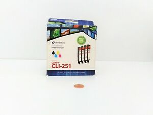 Dataproducts Canon CLI-251 Remanufactured Inkjet Cartridges Multi Pack