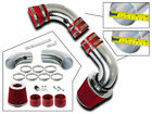 COLD AIR INTAKE SET+RED FILTER For 96-04 Chevy S10 Blazer GMC Jimmy 4.3L V6