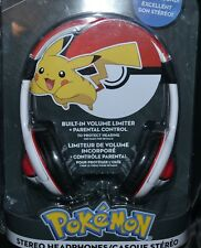Pikachu Headphones Stereo Headset Head Phones Headband Head Phones Band Pokemon