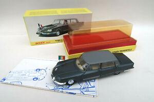 Dinky Toys France Citroen Presidentielle #1435 Etat Neuf + Boite 1969