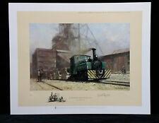 ON THE SUB NIGEL MINE IN THE TRANSVAAL by Shepherd,Ltd Ed,Stamped,Signed Print