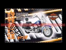 HARLEY DAVIDSON Softail FLSTC Heritage Classic République CONGO Collecting Stamp