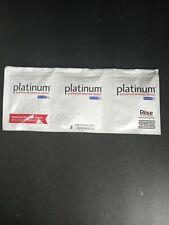 1(3 PACKETS) RED STAR PLATINUM SUPERIOR BAKING YEAST PREMIUM INSTANT