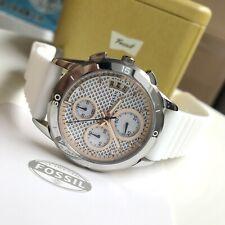 Fossil Watch * ES4024 Modern Pursuit White Silicone Strap Women COD PayPal