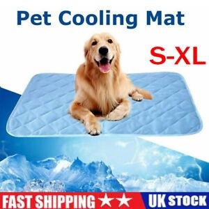 Dog Cooling Mat Pet Ice Pad Teddy Mattress Cat Cushion Summer Keep Cool Bed