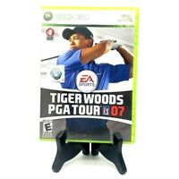 EA Sports Tiger Woods PGA Tour 07 Microsoft Xbox 360 Complete Multiplayer Mint