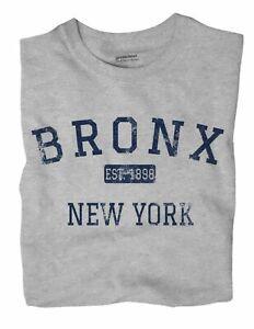 Bronx New York NY T-Shirt EST