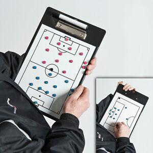 NEW Precision Magnetic Football Coaches Tactic Clip Board - Tactics clipboard