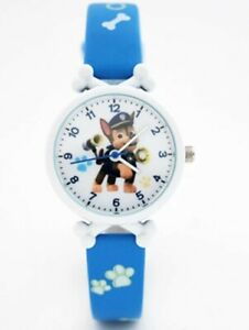 Kinderuhr Paw Patrol Helfer auf vier Pfoten Kinder Armbanduhr Geschenk Chase