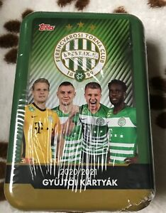 Topps 2020/21 Ferencvárosi TC unopened big tin box
