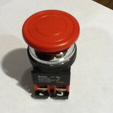 Koino KH-KPB30EM-RO1 30mm Normally Closed Red Push Button