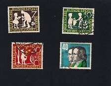 German Stamp 1959 Charity Stamps -Fairy Tales  (Set) (A) Current Value 8.84