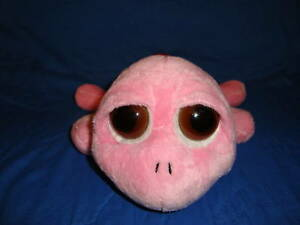 """Russ Peepers Pink Turtle Squirtle 9"""" long"""