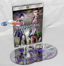 Supernatural: The Anime Series - Sobrenatural: El Anime DVD R1 y R4 NTSC