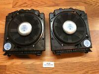✅ OEM BMW E60 5-series 530 535 528 Bass Audio Speaker Speakers Sub Subwoofer SET